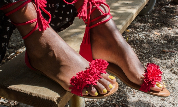 Justin_Wills_of_J_Red_Wrap_Up_Sandals